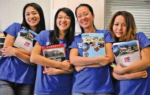 美77%的留學生來自亞洲