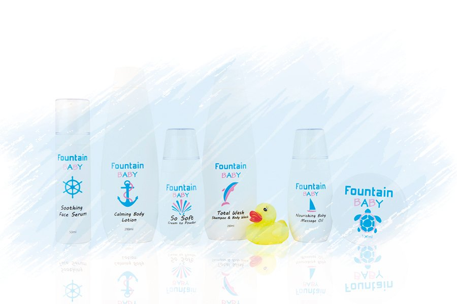 Fountain嬰兒爽身粉液新上市 澳洲製造 天然防敏