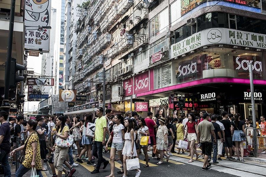 一項最新民調顯示,只有3.1%的香港年輕人認同自己廣義中國人身份。(大紀元資料室)