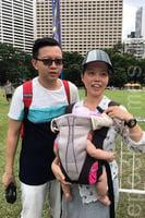 【七一遊行】夫婦帶4月大嬰兒上街:盼下一代有自由