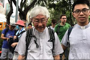 【七一遊行】84歲陳日君上街 前大律師公會主席第15年遊行