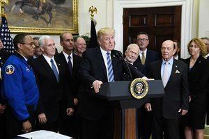 特朗普重啟國家太空委員會 領導世界航天業