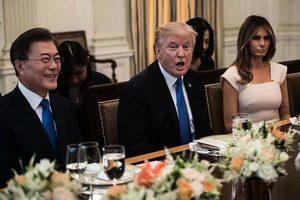 特朗普端韓國拌飯宴請文在寅 兩國聚焦朝核議題
