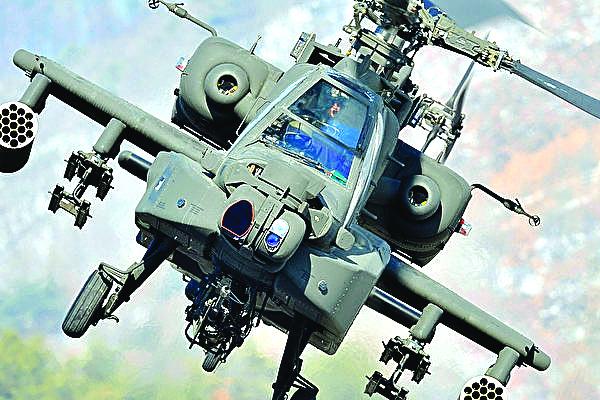 美王牌戰機阿帕奇成功測試激光炮