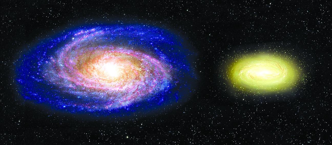 遙遠死亡星系結構挑戰天文理論