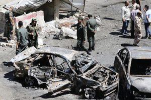 大馬士革爆自殺炸彈襲擊 至少19死