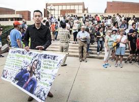 章瑩穎綁架案 疑犯與妻子或參加了聲援活動