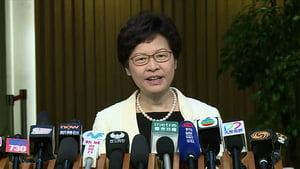 林鄭首日上班 稱已就50億教育新資源取得共識