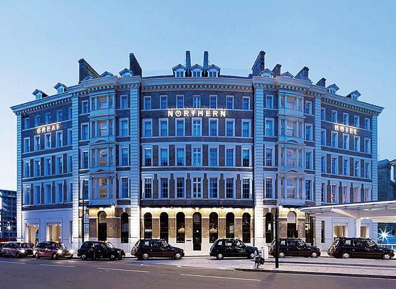 保監會明確表示,不支持安邦近期收購喜達屋和策略酒店集團這兩筆海外併購。圖為喜達屋集團位於英國的酒店。(facebook圖片)