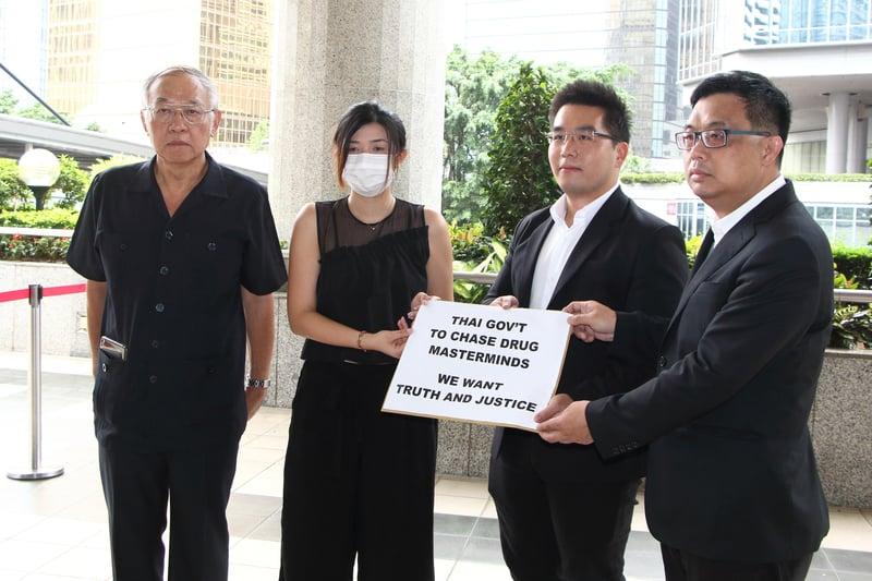 港人涉藏毒泰國被捕 涂謹申冀泰尋求國際刑警協助