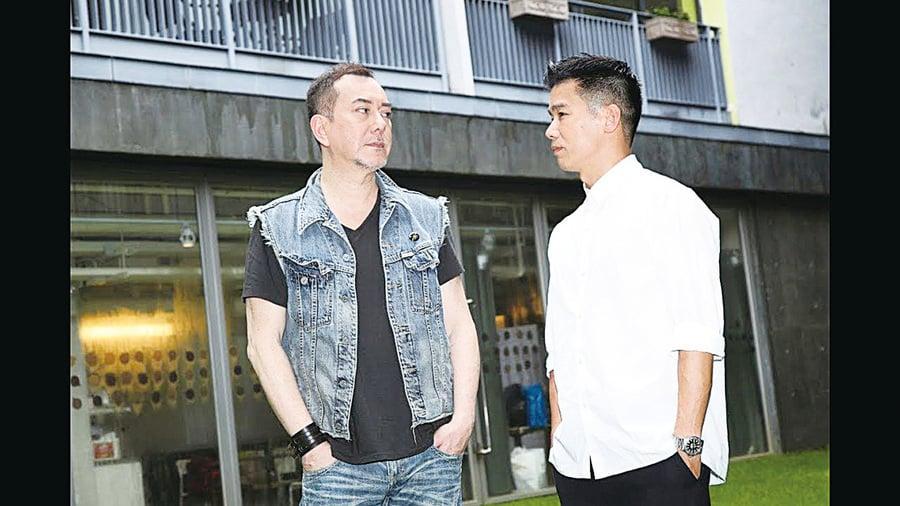 黃秋生林海峰合作舞台劇    劇本「直射」圈中人