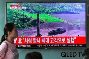G20峰會前北韓再射導彈 日韓抗議