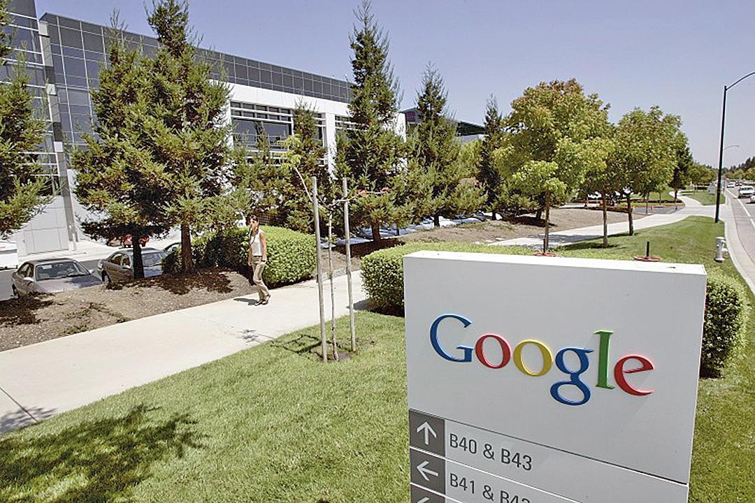 圖為谷歌公司位於加州山景市的總部。(法新社)