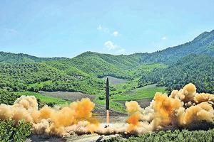 北韓首射「洲際」導彈