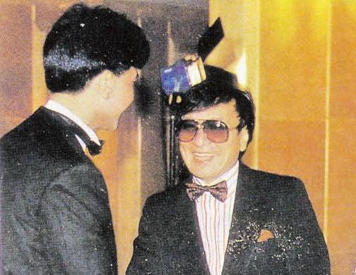 楊尚昆之子楊紹明(右)