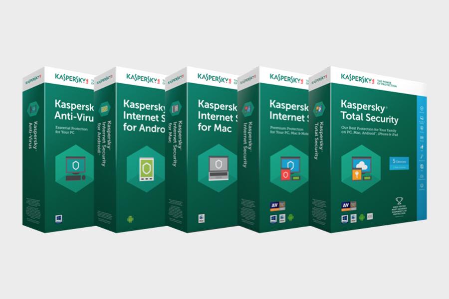 卡巴斯基實驗室(Kaspersky Lab)防毒軟件系列產品。(Kaspersky.com)