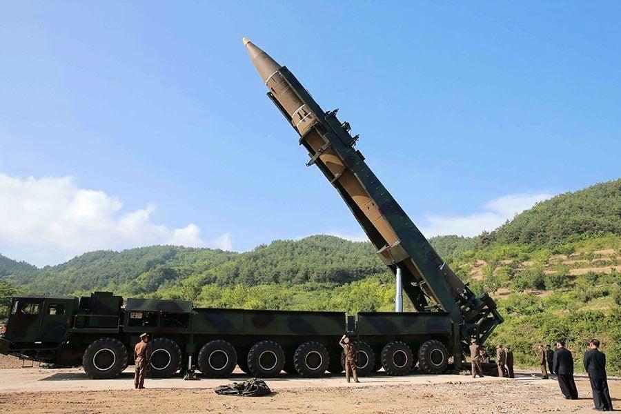 北韓射首枚洲際導彈 發射架改裝自中共卡車