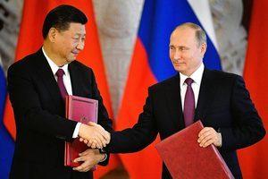 習近平抵俄與普京舉行會談