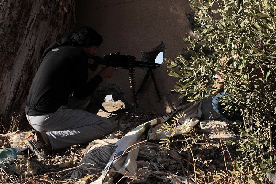 IS節節敗退 敘利亞拉卡老城城牆被攻破