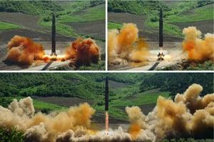 北韓再挑釁射彈 文在寅對朝懷柔政策遭打擊