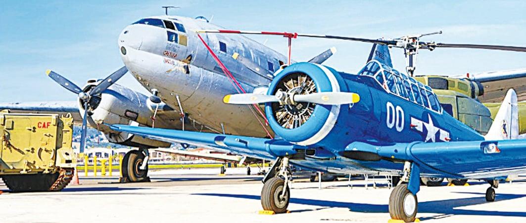 CAF致力於保留二戰時期美國空軍所飛的戰鬥機的歷史。(網絡圖片)