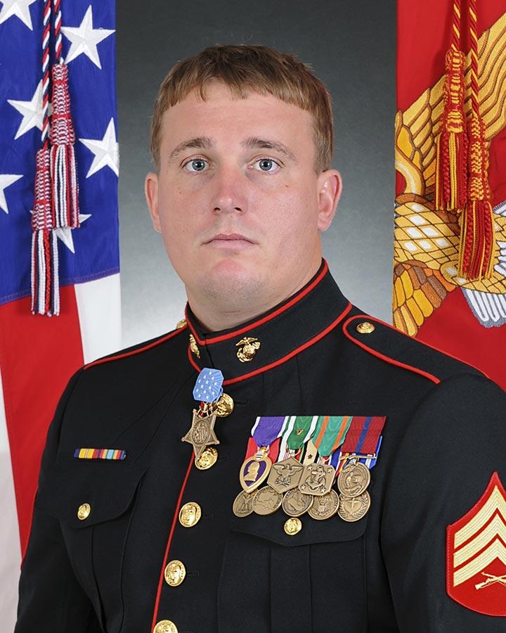 美國軍事最高勳章獎獲得者梅耶中士。(維基百科)