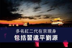 多名紅二代在京現身 包括習遠平劉源