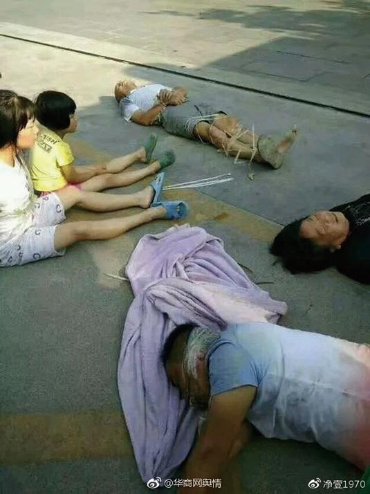 陝西現暴力強拆 全家7口被封嘴捆綁暴打
