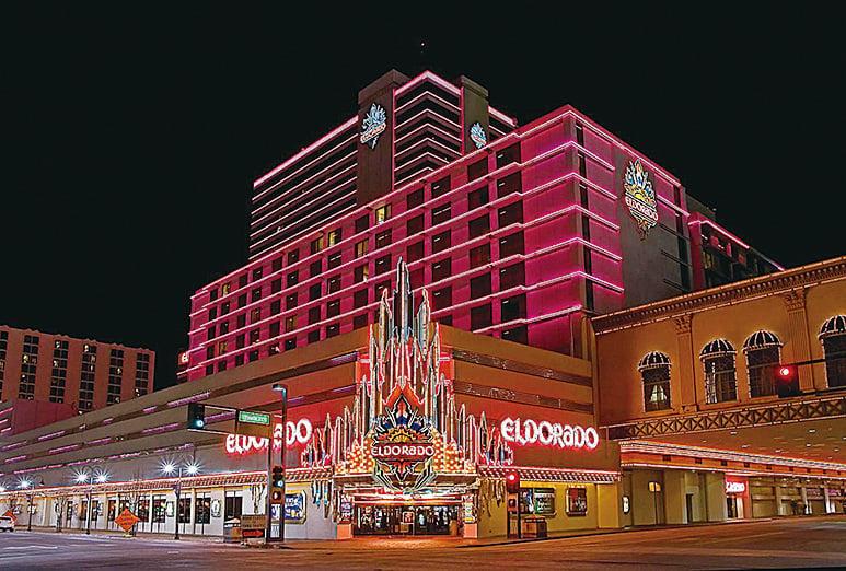位於雷諾市中心的Eldorado賭場。(Eldorado)