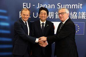 歷經四年談判 歐日敲定自由貿易