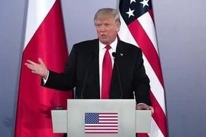 特朗普在歐洲公開質問奧巴馬 為何隱瞞俄黑客