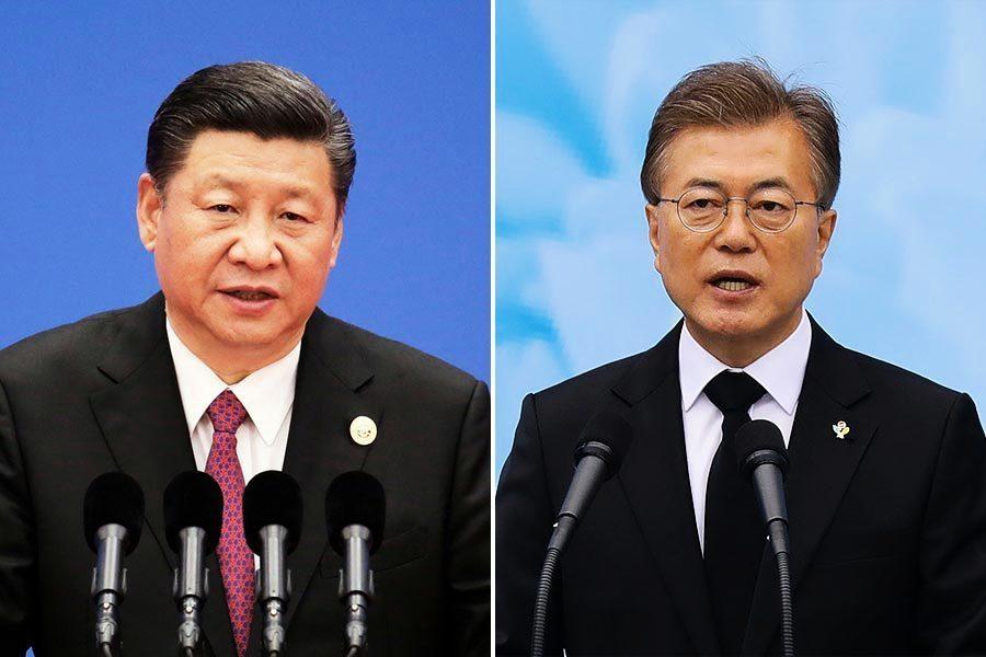G20中韓領導人首次會談 雙方避談薩德
