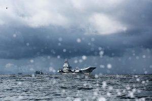 遼寧號今早抵港 展開五日訪港行程
