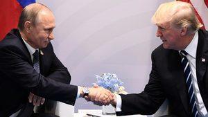 G20峰會首次見面 特朗普主動握手並輕拍普京
