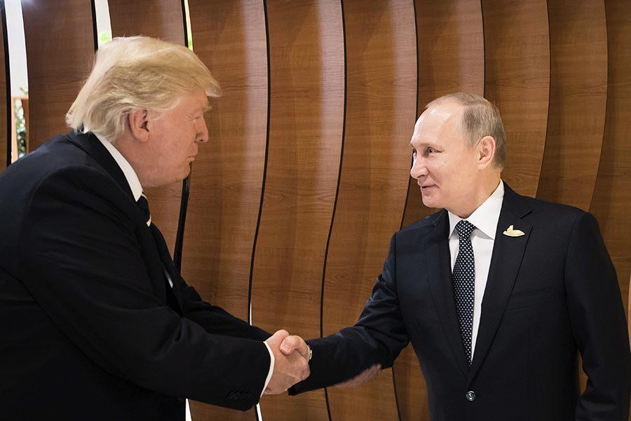 首次會面 特朗普和普京達成敘利亞停火協議