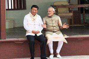 習會見莫迪意外讚印度 傳中印國安高層接觸