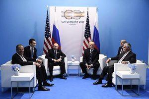 普京和特朗普談不停 梅拉尼婭介入也終止不了