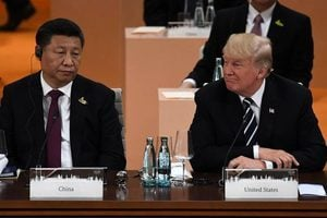 特朗普跟習近平談北韓 雙方坦率而堅定