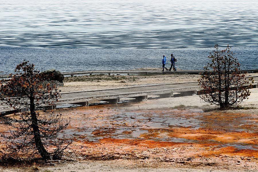 黃石公園兩周地震878次 專家不憂火山爆發