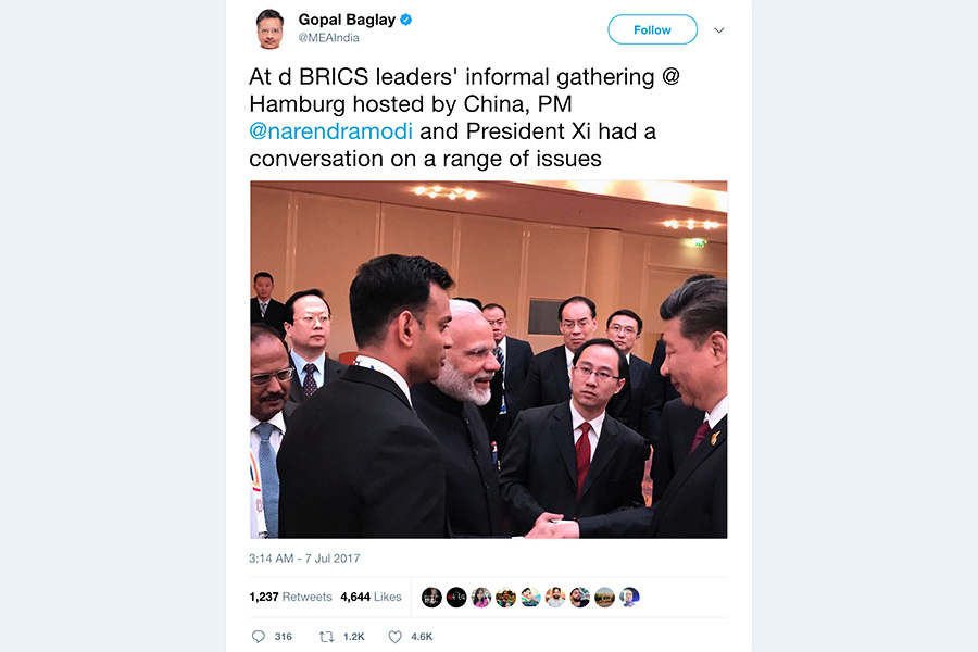 G20「習莫會」五分鐘 中印媒體報道有別