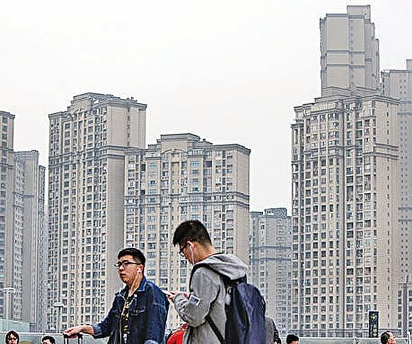 今年一季度,中國江蘇無錫、南京和河南鄭州的房價上漲包攬全球房價漲幅的前三名。圖為江蘇常州樓盤。(大紀元資料室)
