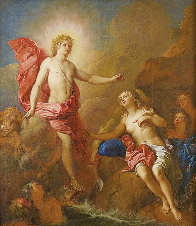 阿波羅與忒提斯(Apollon et Thetis)。(Chateau de Versailles/Foto C. Fouin)