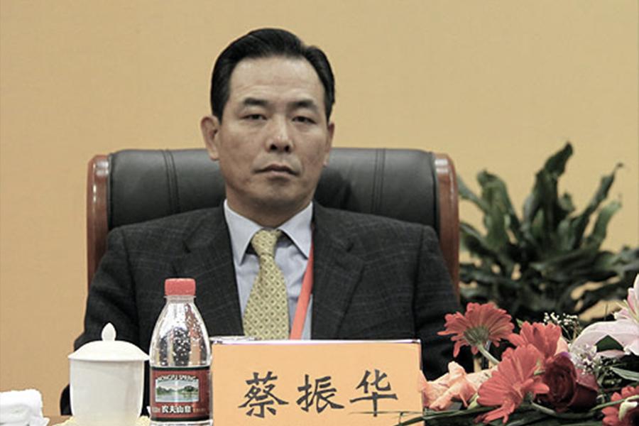 中共體育總局副局長蔡振華並未列入中共十九大代表名單中。(體育總局)