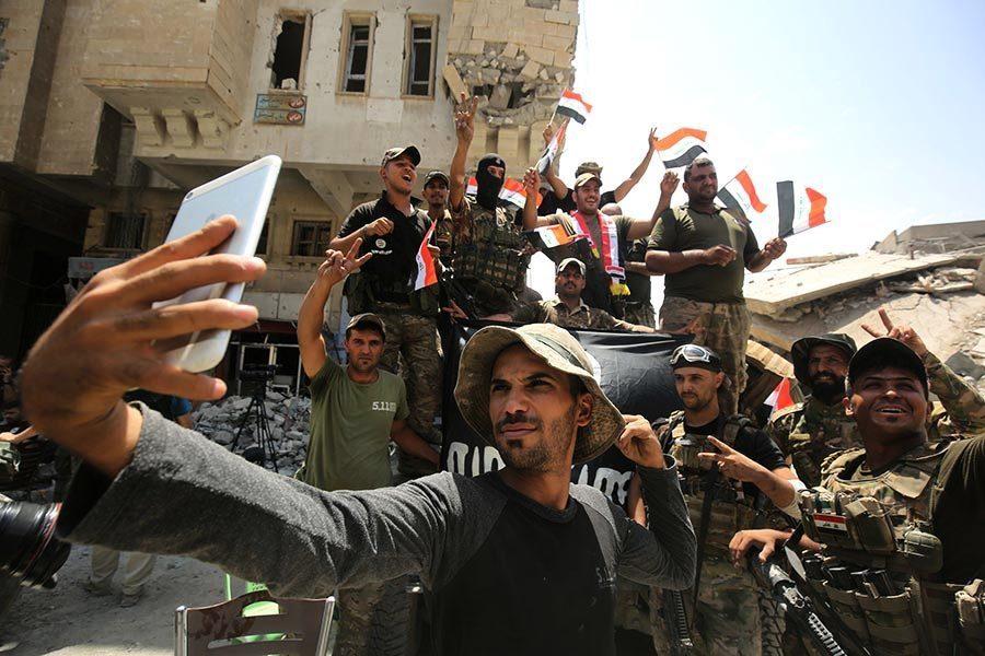 伊總理宣佈摩蘇爾戰役勝利 IS份子跳河逃命