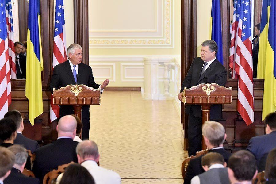 美國務卿首訪烏克蘭 呼籲俄邁出第一步