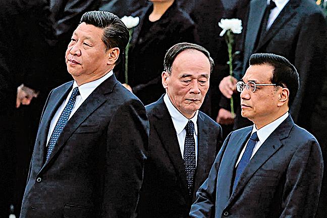 「十九大」前習近平與江、曾將有一場至關重要的決戰。(AFP)