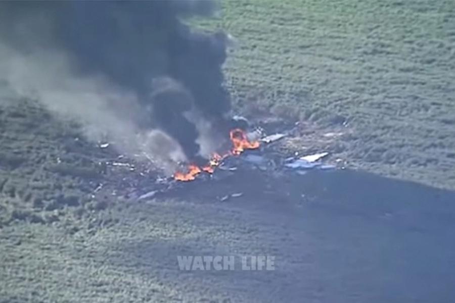 美軍用加油機墜毀 機上16人全部罹難