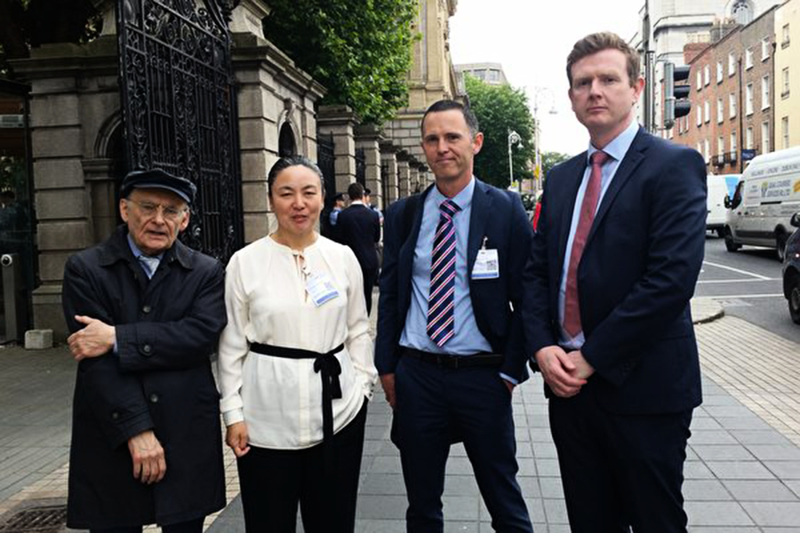 制止中共活摘器官 愛爾蘭議會推動立法