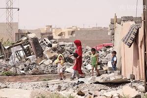 難民返家園 摩蘇爾重建路艱辛