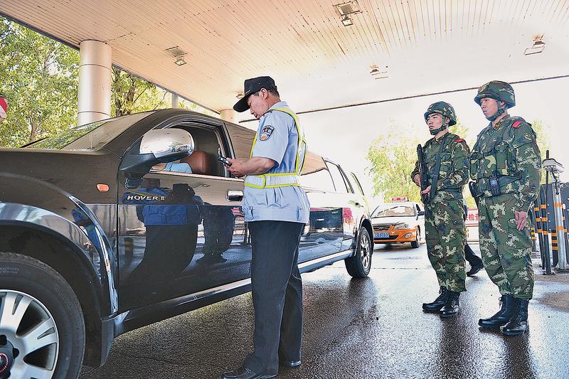 局勢緊張,北京安保升級。(Getty Images)